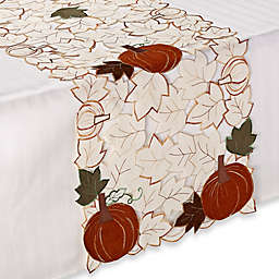 Sam Hedaya Pumpkin Party Table Runner