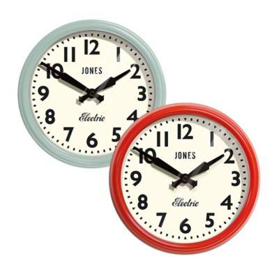Jones 174 Clocks Apollo Wall Clock Bed Bath Amp Beyond