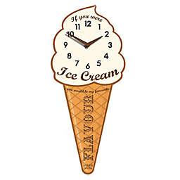 Jones® Ice Cream Flavor Decorative Wall Clock