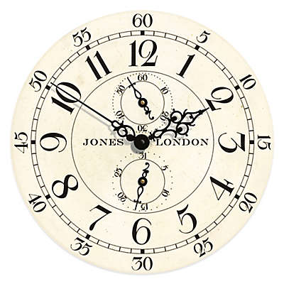 Jones® Clocks Charles Wall Clock