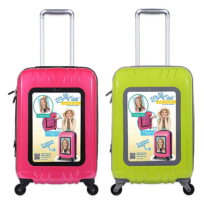 Alternate image 1 for Travelers Club® Selfie Club™ 20-Inch Personalized Hardside Rolling Carry-On