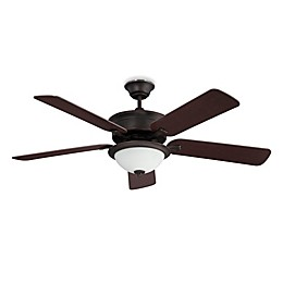 Concord Fans Brookport 52-Inch Single-Light Indoor Ceiling Fan in Oil Brushed Bronze