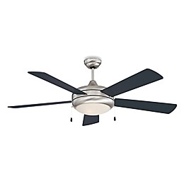 Concord Fans Saturn Ex 52-Inch Single-Light Indoor Ceiling Fan in Stainless Steel