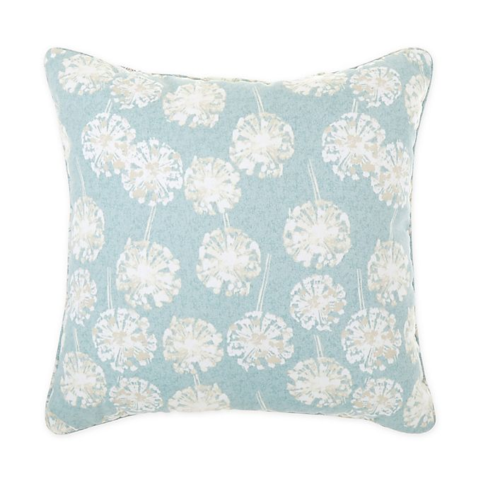 Alternate image 1 for Bee & Willow™ Daffodil Square Indoor/Outdoor Throw Pillow in Green