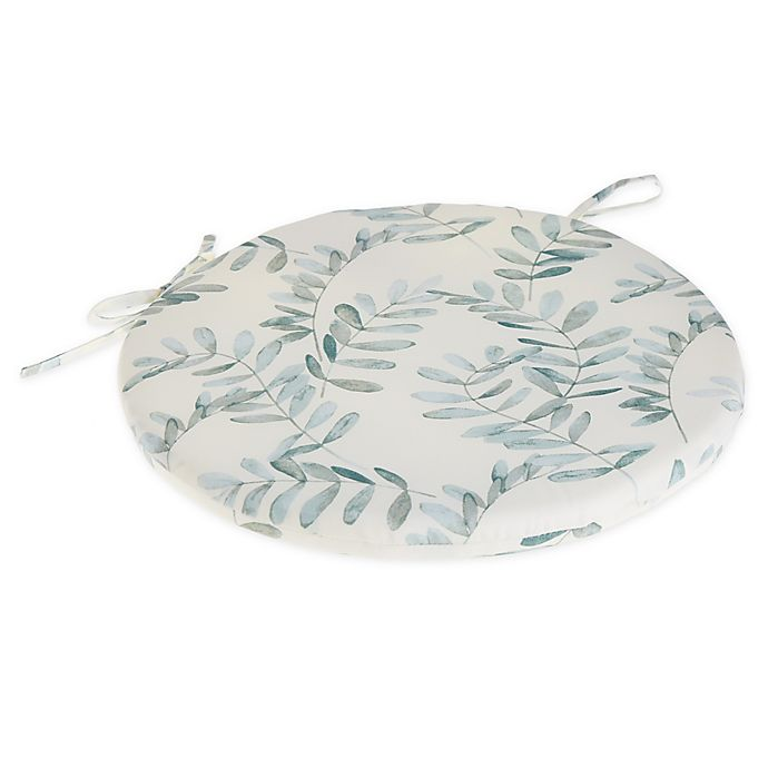 Alternate image 1 for Bee & Willow™ Home Fern Bistro Chair Cushion in Water
