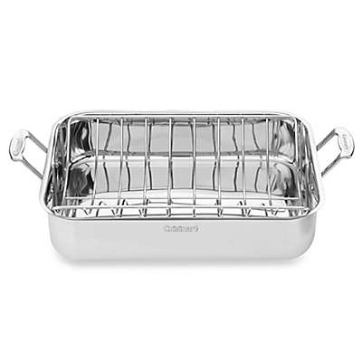 Cuisinart® Chef's Classic 16-Inch Stainless Steel Roaster