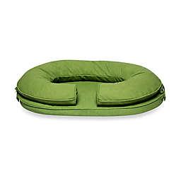 Katherine Elizabeth Large Cody Bolster Pet Bed in Grasshopper