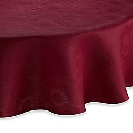 Garnier-Thiebaut Mille Datcha Nacre 69-Inch Round Linen Tablecloth