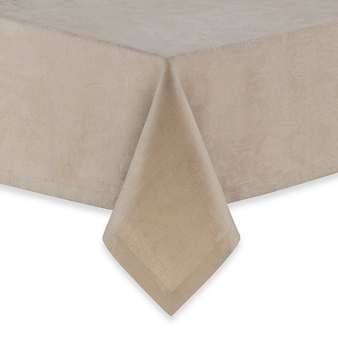 Alternate image 1 for Garnier-Thiebaut Mille Datcha Linen Tablecloth