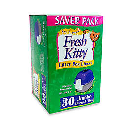 Fresh Kitty 30-Count Jumbo Cat Litter Liners