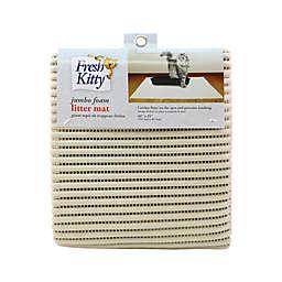 Fresh Kitty® Jumbo Litter Mat in Tan