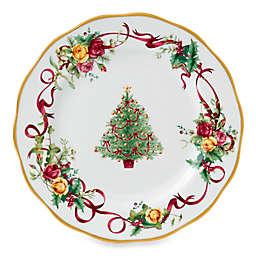 Royal Albert Old Country Roses Christmas Tree Dinner Plate