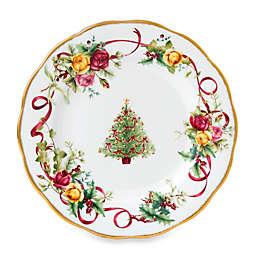 Royal Albert Old Country Roses Christmas Tree Salad Plate
