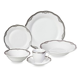 Lorren Home Trends Elizabeth 24-Piece Dinnerware Set