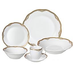Lorren Home Trends Isabella 24-Piece Dinnerware Set
