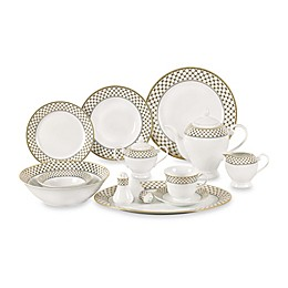 Lorren Home Trends Annabelle 57-Piece Dinnerware Set