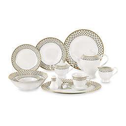 Lorren Home Trends Annabelle 57-Piece Dinnerware Set