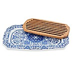 Spode® Judaica Challah Tray with Wood Insert