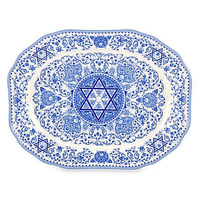 Spode® Judaica 14-Inch Oval Platter
