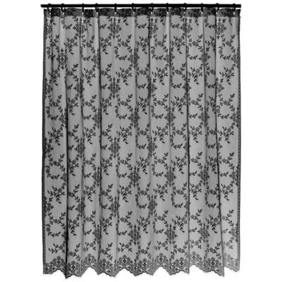 Downton AbbeyR Yorkshire Collection Lace Shower Curtain