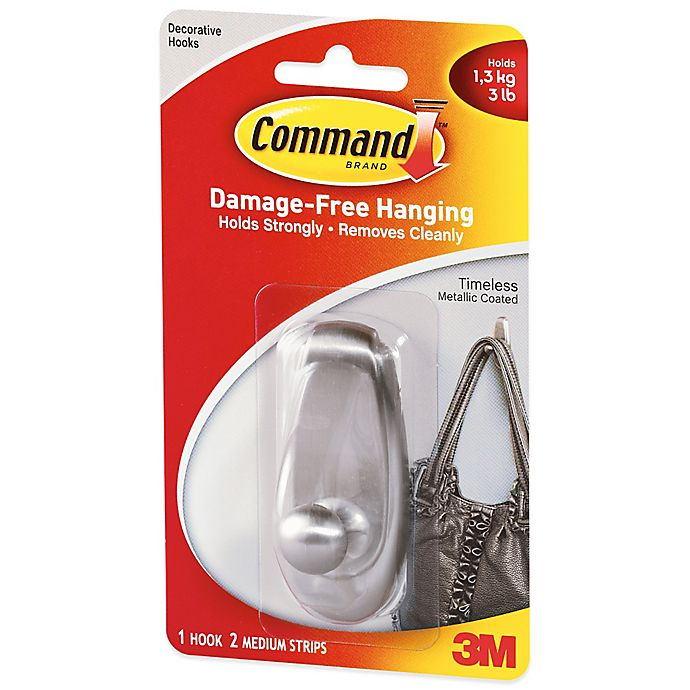 Buy 3M Command™ Timeless Medium Wall Hook From Bed Bath & Beyond