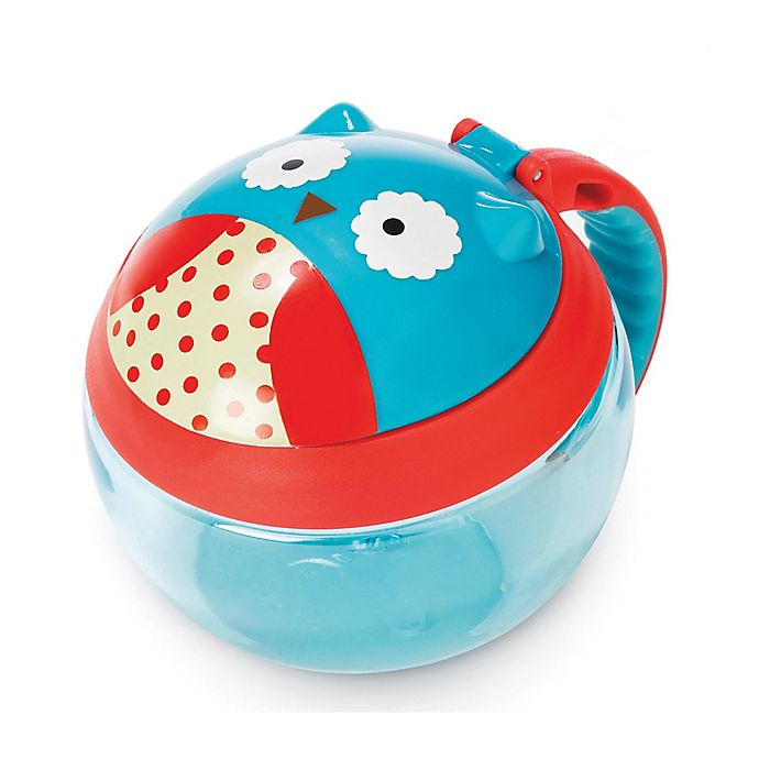 Alternate image 1 for SKIP*HOP® Zoo 7.5 oz. Snack Cup in Owl