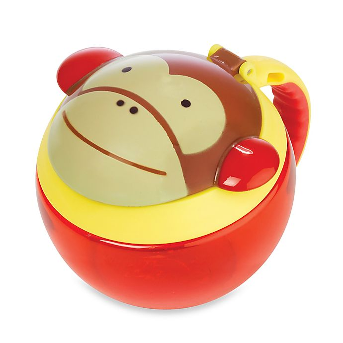 Alternate image 1 for SKIP*HOP® Zoo 7.5 oz. Snack Cup in Monkey