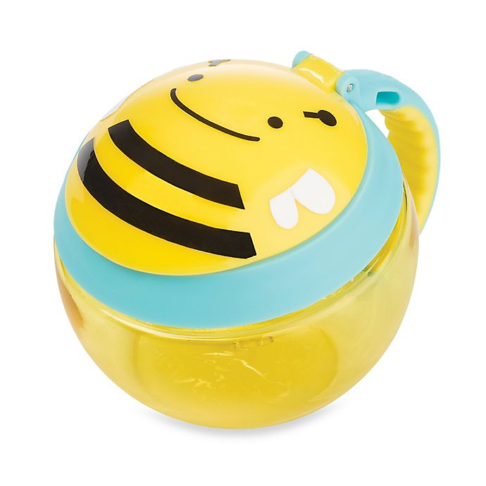 Alternate image 1 for SKIP*HOP® Zoo 7.5 oz. Snack Cup in Bee