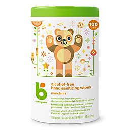 Babyganics® 100-Count Alcohol-Free Mandarin Hand Sanitizing Wipes