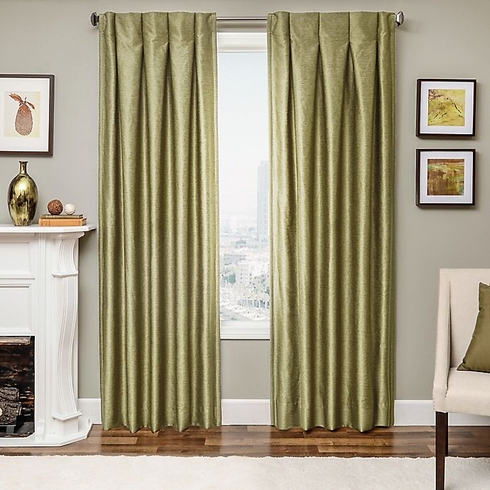 Designers' Select Maximus Inverted Pleat Window Curtain Panels ...