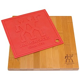 Zwilling® 9-Inch x 9-Inch Cutting Board and Silicone Trivet Set