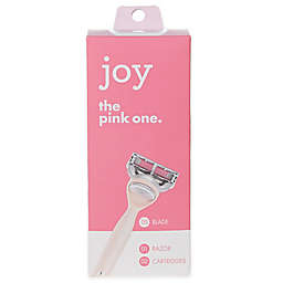 Joy The Pink One Women's Razor with 2 Refill Cartridges