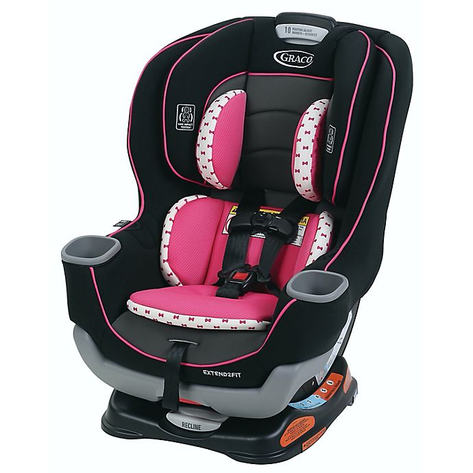 Alternate image 1 for Graco® Extend2Fit™ Convertible Car Seat in Kenzie™
