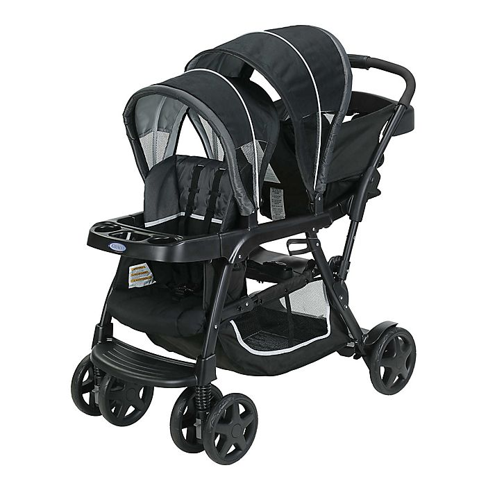 Alternate image 1 for Graco® Ready2Grow Click Connect Stroller in Gotham