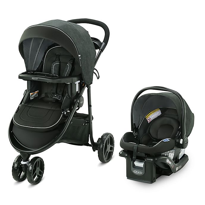 Alternate image 1 for Graco Modes 3 Lite DLX Travel System, West Point
