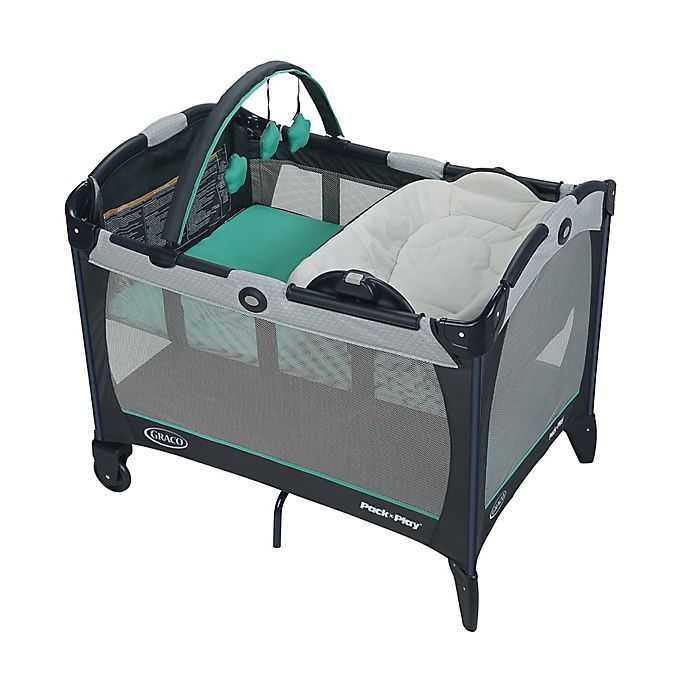 Alternate image 1 for Graco® Pack 'n Play® Playard with Reversible Seat & Changer™ LX in Basin