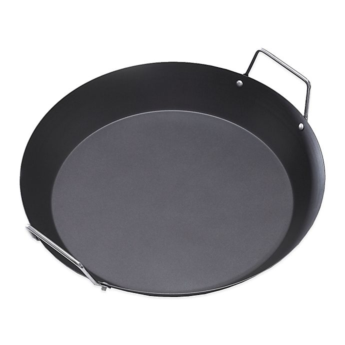 Alternate image 1 for IMUSA® 15-Inch Paella Pan with Metal Handle