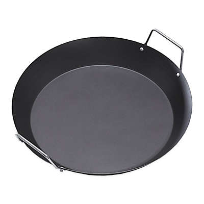 IMUSA® 15-Inch Paella Pan with Metal Handle