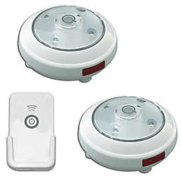 Puck Lights Battery Operated with Remote Control (Set of 2)