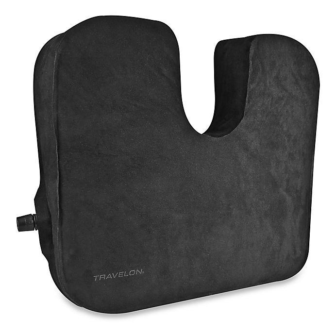 Alternate image 1 for Travelon® Self-Inflating Seat Cushion