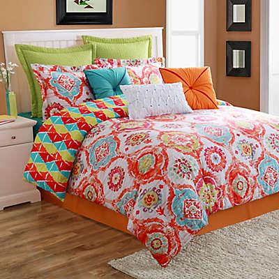 Fiesta® Ava Reversible Comforter Set