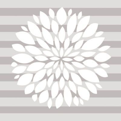 Glenna jean flower wall decal in white buybuy baby mightylinksfo