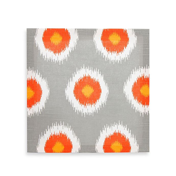 Alternate image 1 for Glenna Jean Rhythm Orb Wall Art in Grey/Orange