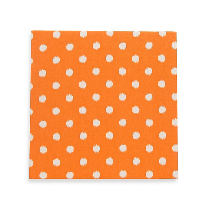Alternate image 1 for Glenna Jean Rhythm Dot Wall Art in Orange/White