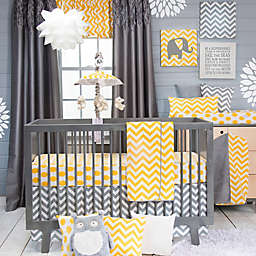 Glenna Jean Swizzle Crib Bedding Collection in Yellow