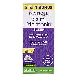 Natrol® 30-Count 3 A.M. Melatonin Tablets