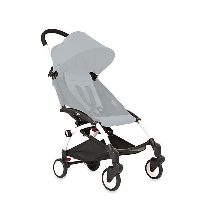 Alternate image 1 for Babyzen™ YOYO White Frame Stroller Collection
