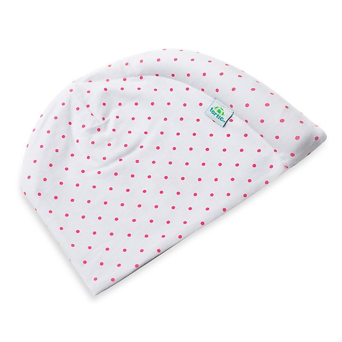 Alternate image 1 for Tortle Cotton Beanie in Pink Polka Dot