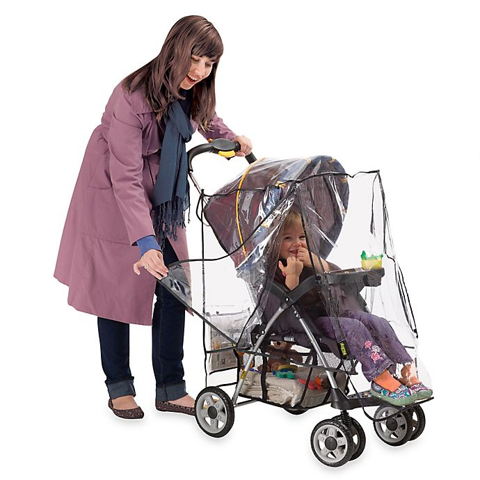 Alternate image 1 for Nûby™ Deluxe Stroller Weather Shield