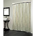 Forest 70-Inch x 96-Inch Fabric Metallic Print Shower Curtain